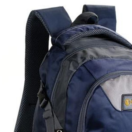 Imagen de  bolso bolsa viaje deporte nilón color azul oscuro para mujer hombre new alternativa