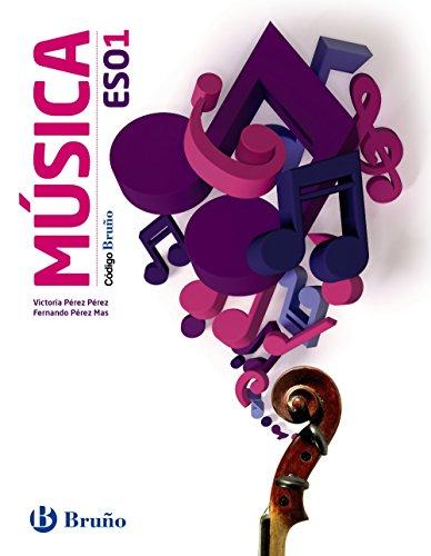 Código Bruño Música 1 ESO - 9788469609279 por Victoria Pérez Pérez
