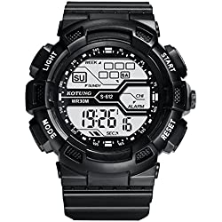 Boy's waterproof sports watch/ running Chronograph Watch/Versatile mens watch-H
