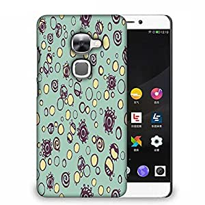 Snoogg Bubble Eyes Designer Protective Phone Back Case Cover For LETV LE 2S