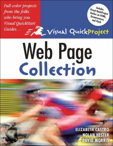 Web Page Visual QuickProject Guide Collection (Visual QuickProject Guides) by Elizabeth Castro (2005-12-19)