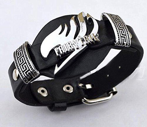Fairy Tail reloj estilo pulsera de la mu?eca punky fresco Estilo