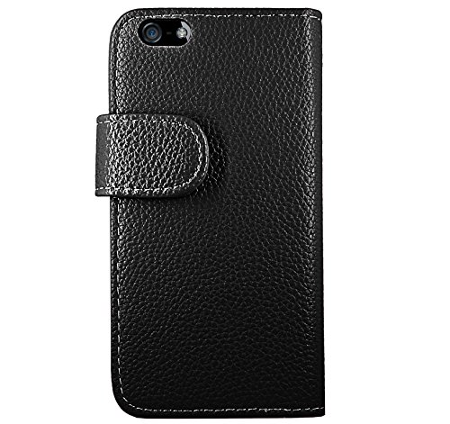 FoneExpert® iPhone 4 4s - Etui Housse Coque Bowknot en Cuir Portefeuille Wallet Case Cover pour Apple iPhone 4 4s + Film de Protection d'Ecran (Color 1) Color 1