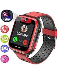 Juego Smartwatch,Juego de Niños Reloj Inteligente Teléfono Celular para Niños Niñas Fiestas Regalos de