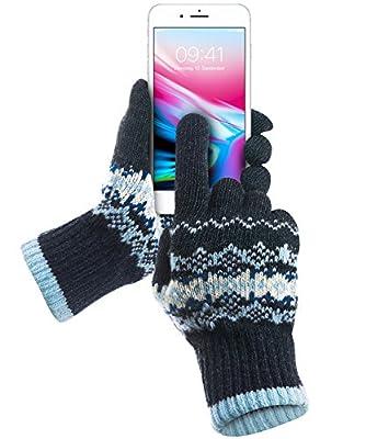 Touchscreen Handschuhe, GreatShield COZY [Alle Finger | Frauen und Männer | Herren und Damen] Unisex Winter Outdoor Warme Touch Gloves für Handy Display, Smartphones, Tablette Größe S/M (Grau/Rosa) von GreatShield bei Outdoor Shop