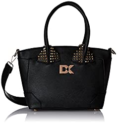 Diana Korr Womens Handbag (Black) (DK102HBLK)