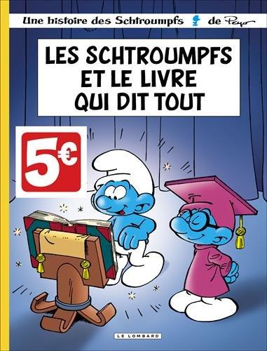 Les Schtroumpfs Lombard - tome 26 - Schtroumpfs et le Livre qui dit tout (Les) - (INDISP 2016)