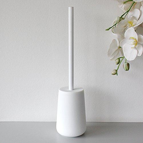 Zona spazzolino per WC Nova One, Terraglia con soft-touch, bianco, ca. 37cm H