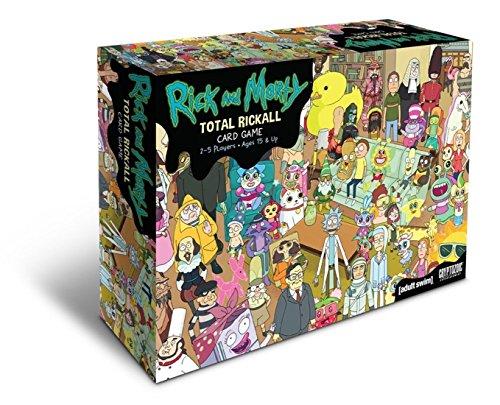 Preisvergleich Produktbild Hinosp Rick und Morty Brettspiel Rickall Cooperative Kartenspiel Rick und Modica Kartenspiel Spot Poker Kartenspiele für Erwachsene Männer und Frauen