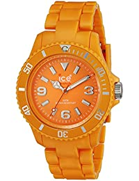 Ice-Watch Unisex-Armbanduhr Big Classic Fluo Orange CF.OE.B.P.10
