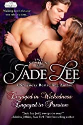 Engaged in Wickedness & Engaged in Passion (Bridal Favors) by Jade Lee (2012-10-10)