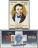 área: Ucrania, razón por tema: 2003 Gryhorij Kwitka, Hambruna, Titel: 603,604 (completa.edición.), año: 2003