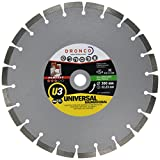 Osborn Dronco 4303810100perfekt U3Universal Diamant-Trennscheibe, 22Segment, C3Form, 6400RPM Speed, 300mm Durchmesser, 3mm Stärke, 22,23mm loch Durchmesser