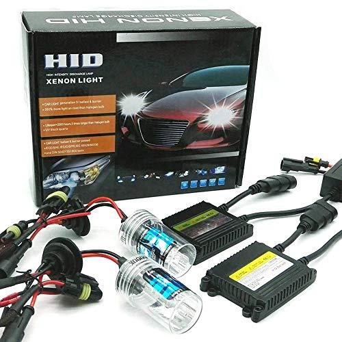 Akhan Digital 9-32 v 35W cANBUS h7 Xenon kit kit dextension 10000 k Pas de Scintillement au x/énon hID Ballast//Lampe et de Montage mat/ériau sans Message derreur