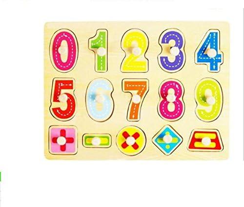 EoamIk EoamIk EoamIk Jeux de la Petite enfance Puzzle en Bois Nombre préscolaire Conseil pour Les  s Puzzle éducatif   Terrific Value  cba626