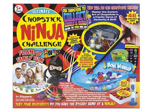 Toyland Ultimate Chopstick Ninja Challenge - Übung Macht den Meister - Hektischer Familienspaß