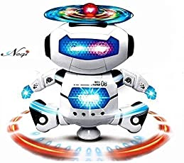 Negi Dancing Robot with 3D Lights and Music