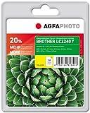 AgfaPhoto APB1240YD Toner für Brother MFCJ6510DW, 736 Seiten, gelb