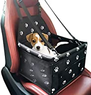 حامل مقعد متنقل للحيوانات الأليفة للكلاب والقطط قابل للطي مع حزام أمان يمكنه حمل وزن يصل إلى 25 باوند