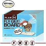 Homar Trampa Fly - El mejor en productos para el control de plagas - de doble cara Insectos pegajosas Trampas Juntas pegamento usado en interior y exterior de los insectos de cama, arañas, cucarachas, mosquitos, lagartijas, etc. (20)