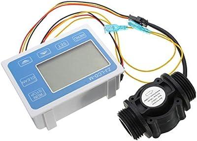 adaalen Sensor de Dà © Bit de los líquidos de agua zj-lcm-m LCD numà © rique gráfico Dà © bitmã š Tre contrã' leur Quantitative