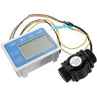 PhilMat ZJ-lcm-m sensore di flusso liquido acqua lcd digitale misuratore di portata quantitativa controller per