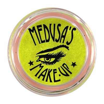 Medusa's Make-Up Lidschatten GLITTER neon yellow