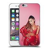 Head Case Designs Offizielle Ariana Grande Leder rot Gefährliche Frau Soft Gel Huelle kompatibel mit iPhone 6 / iPhone 6s