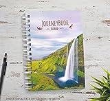 Reisetagebuch Island zum selberschreiben oder als Abschiedsgeschenk