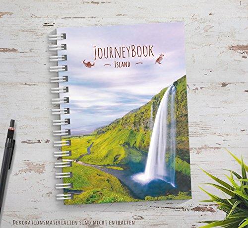 Reisetagebuch Island zum selberschreiben oder als Abschiedsgeschenk -