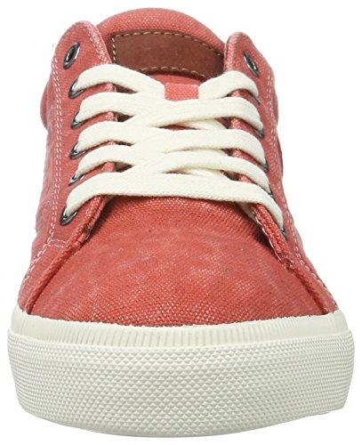 Brax Herren Marcello Low Sneaker Top Rot (Rosso)