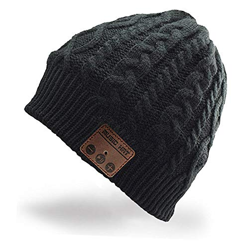 be7f60831a7 Hebey Wireless Bluetooth Music Hat Knitting Warm Winter Hat for Outdoor  Sports