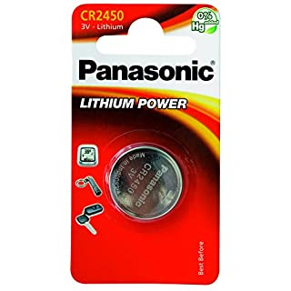 Panasonic Knopfzelle Lithium CR2450 (3 Volt)