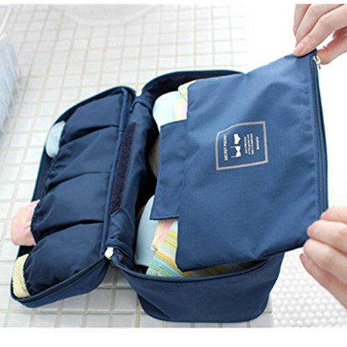 Spritech donna (TM)-Custodia portatile da viaggio Underwear Top Storage Bag Wash Bag