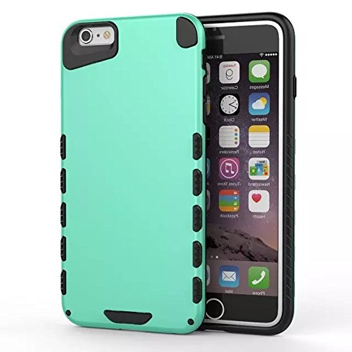 GR IPhone 6 6S PLUS Cover, Solid Color 2 In 1 neue Rüstung Tough Style Hybrid Dual Layer Defender PC Hard Back Cover Shockproof Case Für IPhone 6 6S Plus ( Color : 6 ) 5