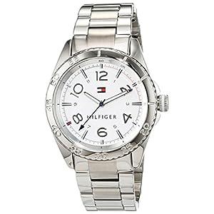 Tommy Hilfiger1781639 –Reloj de Pulsera analógico para Mujer de Cuarzo y Acero Inoxidable