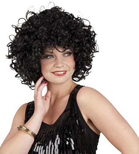 Black Curly wig (peluca)