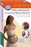 Kit de pintura de vientre de embarazada de ProudBody