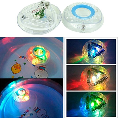 Price comparison product image ANKKO Colorful Watertight Plastic LED Lights Bathing Tub Toys for Kids