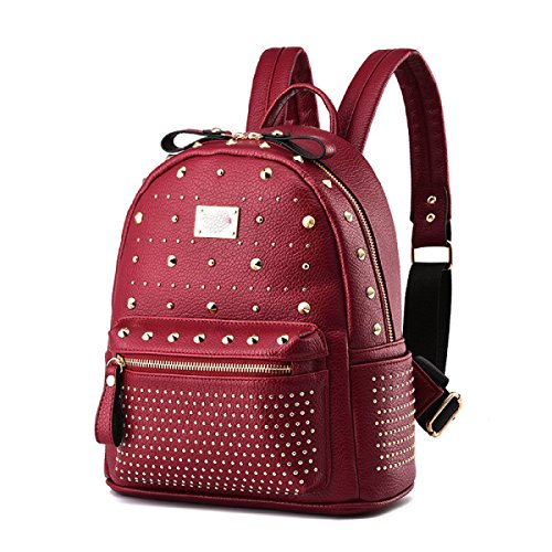 70a2ed5f93619 Student Rucksack Nieten Schultertasche Lady Casual Bag