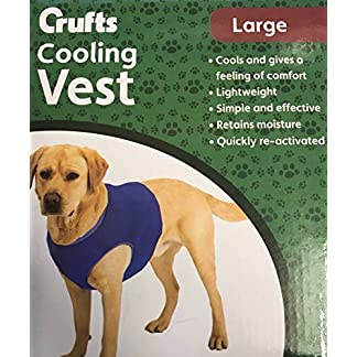 Crufts Pet Cooling Vest in Colour Box, Large 5195 2Byj5jUL