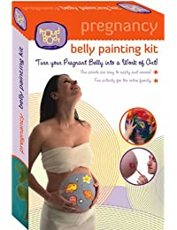 Kit de peinture sur ventre de grossesse de ProudBody