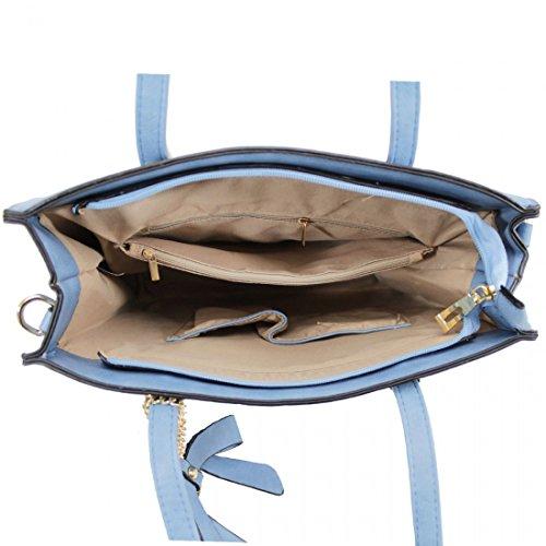 Elegant Fashions - Sacchetto Ragazza donna Unisex, neonati L Blue