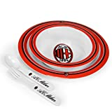 Set Pappa Prima Infanzia A.C. Milan Melamina squadre calcio *12671