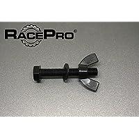 Racepro 70mm 25x Wei/ß Tough M6 Wei/ß Hex Nylon Kunststoff-Schrauben Schrauben