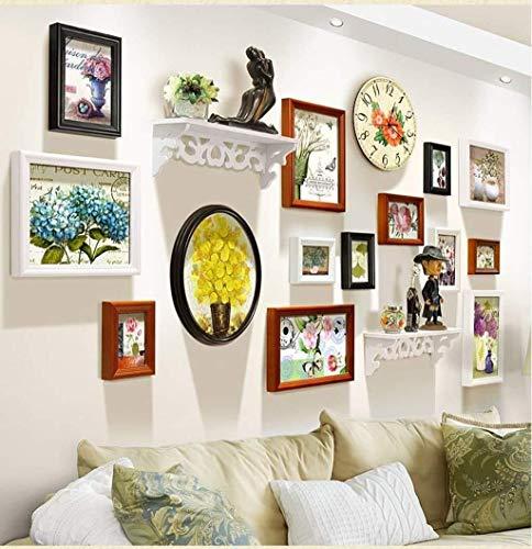 TZZ Bilderrahmen Collage Familie Kombination Wohnzimmer Creative Photo Wand (Farbe : C)