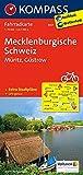 KOMPASS Fahrradkarte Mecklenburgische Schweiz - Müritz - Güstrow: Fahrradkarte. GPS-genau. 1:70000: Fietskaart 1:70 000 (KOMPASS-Fahrradkarten Deutschland, Band 3021)