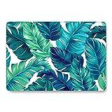 AQYLQ MacBook Schutzhülle/Hard Case Cover Laptop Hülle [Für MacBook Pro 13 Zoll – mit CD-Laufwerk: A1278] - Ultradünne Matt Plastik Gummierte Hartschale Tasche Schutzhülle, FL-13 Weiches grünes Blatt