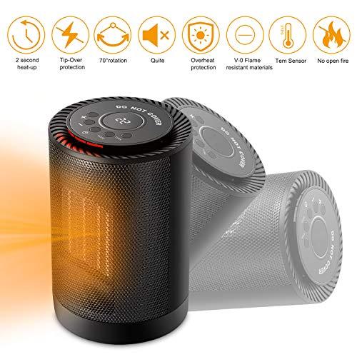 Sendowtek-Mini-Calefactor-Cermico-1200W-Calentador-de-Espacio-Elctrico-Porttil-Personal-para-CuartoBaoOficina-Oscilacin-Automtica-3-Modos-de-contra-Viento-2-Proteccin-de-Seguridad