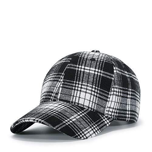 Yidarton Baseball Cap Polo Style Classic Sports Casual Plain Sun Hat Black